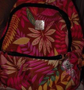 Рюкзак, сумка из ткани