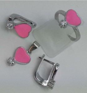 Комплектики серебро 925 для принцесс