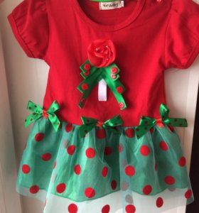Новогоднее платьеце