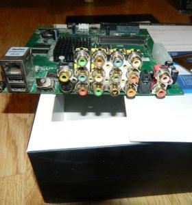 Popcorn Hour B-110, материнка Mini-ITX