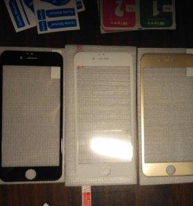 Защитное стекло 3D на iPhone 6 / 6s