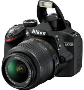 Зеркальный фотоаппарат Nikon D3200 Kit 18-55VR
