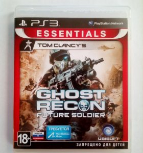 Ghost Recon Future Soldier для PlayStation 3
