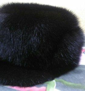 Норковая шапка мужская новая, объём головы 57см,M