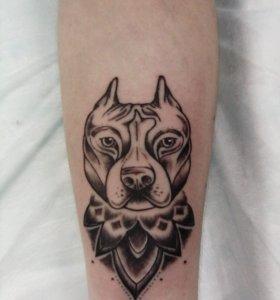 Художественная татуировка.