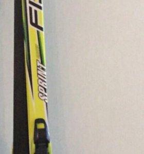 Лыжи беговые Fischer р160 ботинки на 37