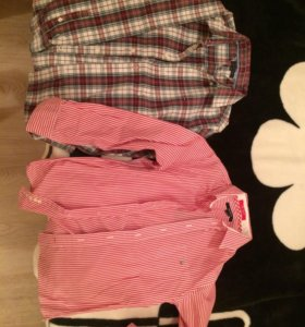 Рубашки на мальчика Tommy Hilfiger, Gant
