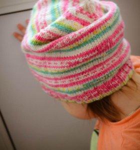 """Детская шапка """"бини"""""""