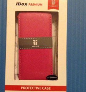 Чехол для iPhone 5/5s, розовый