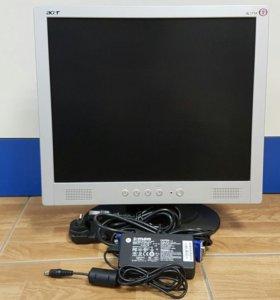 """Монитор ЖК Acer 17"""" в отличном состоянии"""