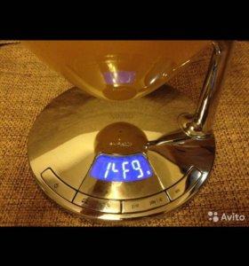 Кухонные весы с таймером Uma, желтый, Casa Bugatti