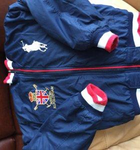 куртка для мальчика 116-122