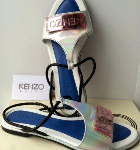 Кожаные сандали KENZO