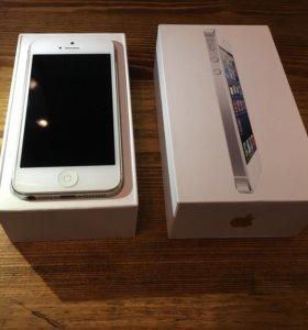 iPhone 5 Silver 16 gb