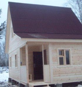 Каркасный дом 75м2
