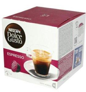Кофе в капсулах Dolce Gusto Espresso