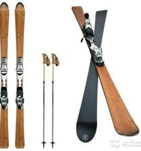 Элитные лыжи Bogner Bamboo выпущено 2000 пар