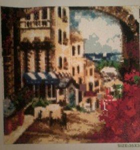 Картины ручной работы ( алмазная вышивка-мозайка)