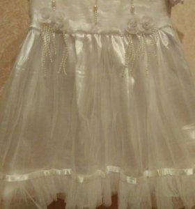 Нарядное платье на 1годик