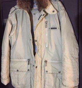 Куртка зимняя мужская пуховик