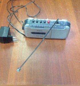 Магнитофон с радио