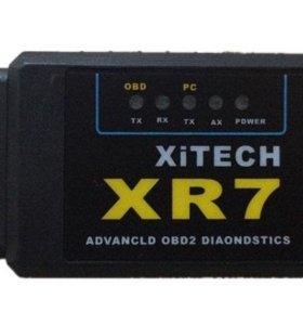 Диагностический Сканер  XR7 Xitech Bluetooth obd2
