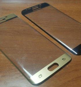 Защитное стекло для S6 Edge