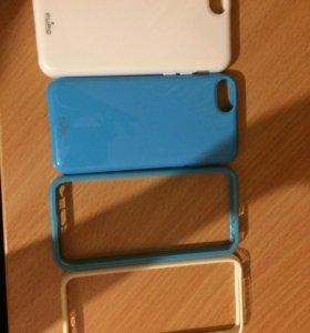 Чехлы на айфон 5c и 5s