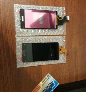 Дисплей с тачскрином на Sony xPeria z1 compact