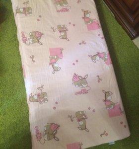 Матрасик для детской кроватки