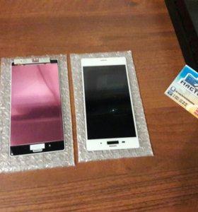 Дисплей с тачскрином на Sony xPeria z3