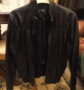 Женская Кожаная куртка (Италия)