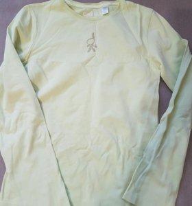 Трикотажная футболка с длинным рукавом
