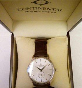 Новые мужские швейцарские часы Continental