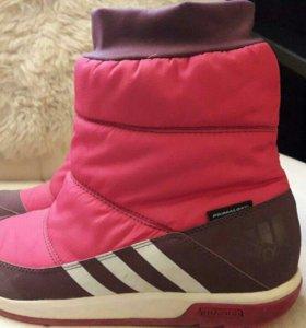 Adidas  зимние дутики