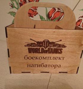 Ящик под пиво,  6 бутылок