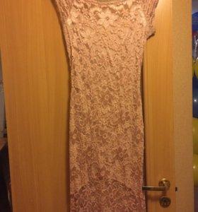 Вечернее платье кружево