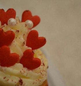 Сладкие подарки! Капкейки, торты и конфеты!