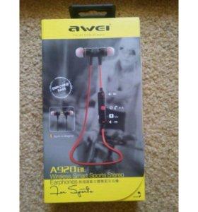 Наушники Awei Bluetooth A920
