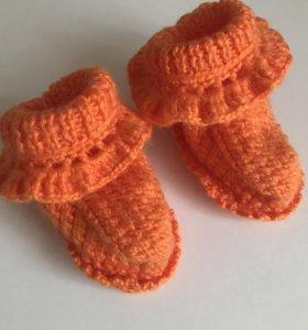 Пинетки носки новые