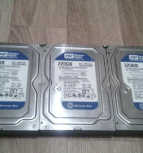 Жёсткие диски 320gb