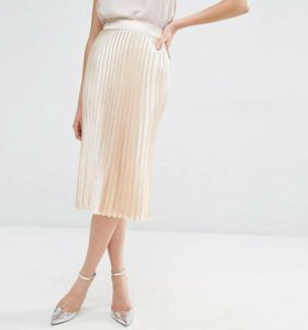 Плиссированная юбка новая