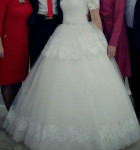 Свадебное платье для принцесс!