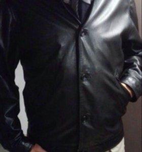 """Кожаная куртка мужская """"Mabrun"""""""