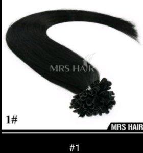 Волосы на кератине
