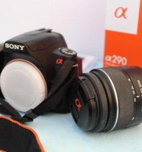 Зеркальный фотоаппарат Sony Alpha a290