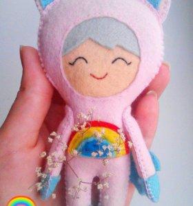 Кукла Единорожка
