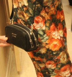 Новая сумка Оригинал Gaude milano из натуральной к