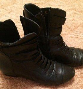 Ботинки натур. кожа