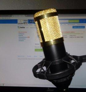 Studio microphone Студийный микрофон BM-800